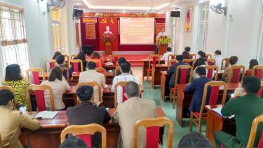 46 đảng viên mới được bồi dưỡng lý luận chính trị tại Đảng ủy Khối cơ quan và doanh nghiệp tỉnh Yên Bái.