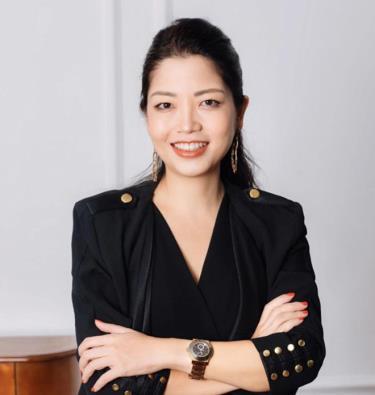 Bà Hoàng Tri Mai - Tổng Giám đốc của Tập đoàn Airbus tại Việt Nam
