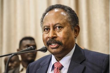Thủ tướng Sudan Abdalla Hamdok.