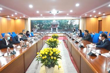 Buổi làm việc giữa Bộ Tài chính Việt Nam và Quỹ Phát triển nông nghiệp quốc tế