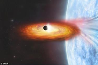 Lần đầu tiên trong lịch sử, các nhà thiên văn học có thể đã thấy một hành tinh bên ngoài dải Ngân Hà. Ảnh minh họa: NASA.