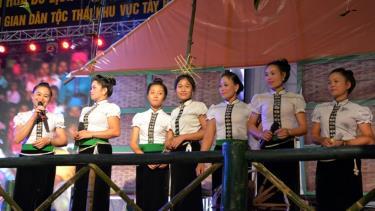 Tái hiện Hạn Khuống trong ngày hội dân gian dân tộc Thái vùng Tây Bắc.