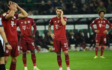 Bayern Munich nhận thất bại cay đắng.