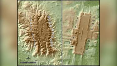 Công nghệ LIDAR đã phát hiện ra nhiều trung tâm nghi lễ bị chôn vùi của người cổ đại ở Nam Mexico (Ảnh: Takeshi Inomata).