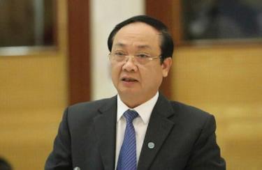 Ông Nguyễn Thế Hùng, nguyên Phó Chủ tịch UBND thành phố Hà Nội.