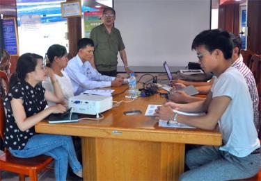 Thành phố Yên Bái đẩy mạnh tuyên truyền PCTN trong các cơ quan, đơn vị.