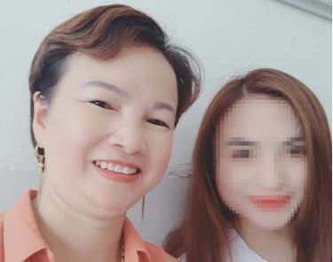 Bà Hiền và nữ sinh Cao Mỹ Duyên.