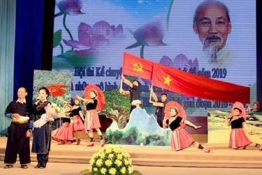 Tỉnh ủy Yên Bái tổ chức Hội thi Kể chuyện về Bác Hồ theo chủ đề năm 2019 (tháng 9-2019).