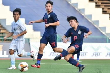 U19 Thái Lan có chiến thắng hủy diệt 21-0.