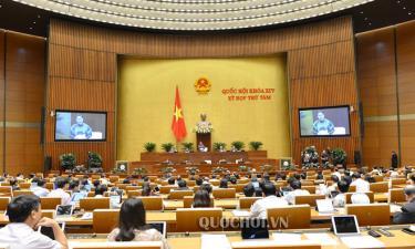 Chủ tịch Quốc hội Nguyễn Thị Kim Ngân kết luận phiên chất vấn đối với nhóm vấn đề thuộc lĩnh vực thông tin truyền thông.