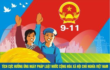 Ngày Pháp luật Việt Nam được tổ chức từ năm 2013 (Nguồn ảnh: nternet)