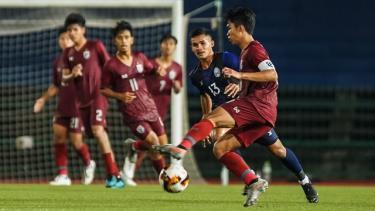 U19 Campuchia gây sốc khi đánh bại U19 Thái Lan ở vòng loại bảng G
