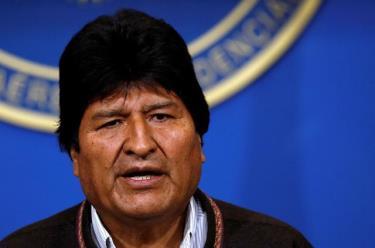 Ông Evo Morales
