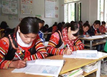 Sắp có thêm 2 thứ tiếng dân tộc thiểu số được đưa vào giảng dạy. Ảnh minh họa.