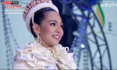 Người đẹp Thái Lan Sireethorn Leearamwat vượt qua 82 thí sinh, trở thành Hoa hậu Quốc tế 2019.