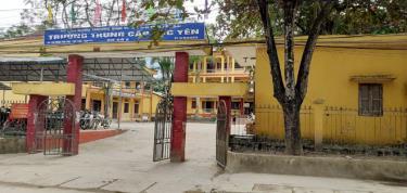 Trường trung cấp Nghề Lục Yên