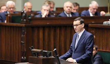 Thủ tướng Mateusz Morawiecki cam kết đưa Ba Lan thành nơi đáng sống tại châu Âu.