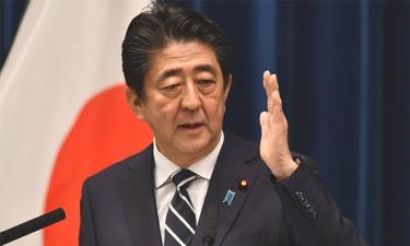 Thủ tướng Nhật Bản Shinzo Abe phát biểu tại Tokyo tháng 7 năm nay.