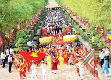 Lễ Giỗ Tổ Hùng Vương sẽ được tổ chức vào ngày 02 tháng 4 năm 2020.