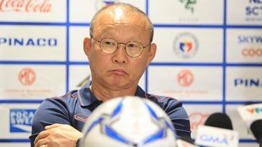 HLV Park Hang-seo vẫn đầy thận trọng sau chiến thắng đậm của các học trò.