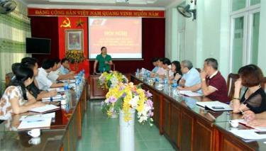Hội nghị Ban Chỉ đạo, Ban Tổ chức Hội thi tìm hiểu, thực hiện Nghị quyết Trung ương 4 (khóa XII) do Đảng ủy Khối các cơ quan tỉnh tổ chức.
