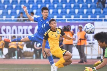 U22 Thái Lan huỷ diệt U22 Lào tại SEA Games 30.