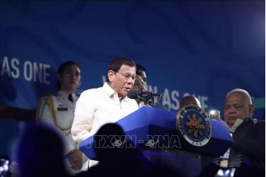 Tổng thống Philippines Rodrigo Duterte tuyến bố khai mạc SEA Games 30.