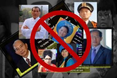 """Những kẻ cầm đầu tổ chức """"Chính phủ quốc gia Việt Nam lâm thời"""""""