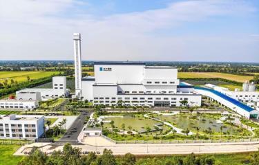 Nhà máy đốt rác phát điện Cần Thơ tại xã Trường Xuân, huyện Thới Lai, TP Cần Thơ.