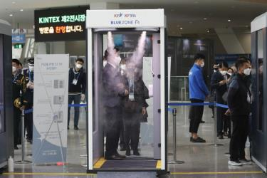 5 ngày liên tiếp Hàn Quốc có số ca nhiễm trong ngày vượt trên 300 ca