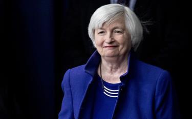 Cựu Chủ tịch Cục Dự trữ Liên bang Mỹ (Fed) Janet Yellen. Bloomberg
