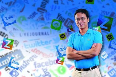 Zalo của tập đoàn VNG đang là cái tên nổi bật nhất khi nhắc tới các mạng xã hội Việt Nam.