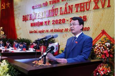 Ông Đặng Xuân Phong hiện là Bí thư Tỉnh ủy Lào Cai khóa XVI, nhiệm kỳ 2020 - 2025.
