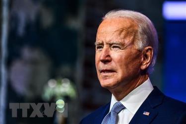 Ông Joe Biden phát biểu tại Wilmington, Delaware, Mỹ, ngày 24/11/2020.
