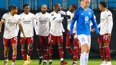 Arsenal đoạt vé vào vòng 1/16 Europa League sau trận thắng Molde.
