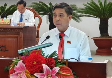 Ông Đồng Văn Thanh - chủ tịch UBND tỉnh Hậu Giang nhiệm kỳ 2016-2021