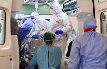 Số ca tử vong do Covid-19 tại châu Âu tiếp tục tăng mạnh