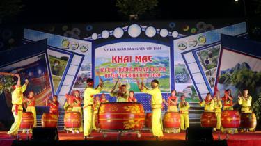 Drum-beating performance to kick-start the fair