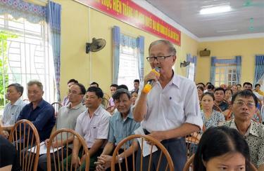 HĐND huyện Trấn Yên tổ chức các hoạt động tiếp xúc cử tri để lắng nghe tâm tư, nguyện vọng của cử tri.