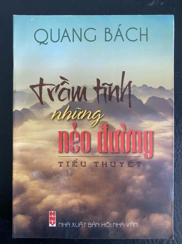 """Bìa 1 cuốn sách """"Trầm tĩnh những nẻo đường"""" của tác giả, nhà giáo Lương Quang Bách"""