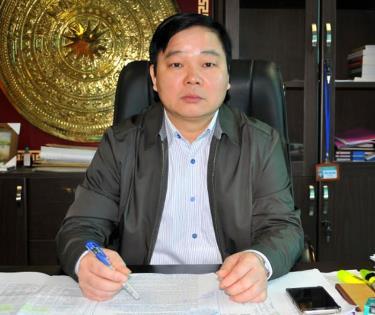 Ông Nông Xuân Hùng - Cục trưởng Cục Thuế tỉnh Yên Bái.