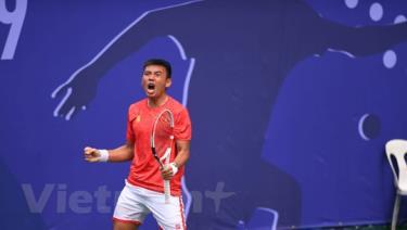 Lý Hoàng Nam vào chung kết đơn nam SEA Games 30.