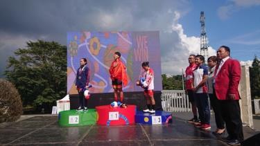 Nguyễn Thị Thật giành Huy chương vàng nội dung Xuất phát đồng hành nữ.