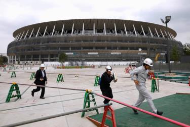 Gói kích thích tài chính mới giúp Nhật Bản có thêm các khoản đầu tư sau Olympic 2020.