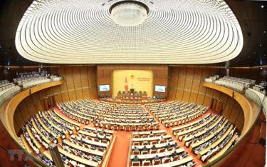 Một phiên họp của Quốc hội.
