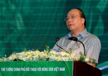 Thủ tướng Nguyễn Xuân Phúc tại cuộc đối thoại năm 2018