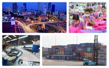 ADB điều chỉnh tăng dự báo tăng trưởng GDP của Việt Nam. (Ảnh minh họa)