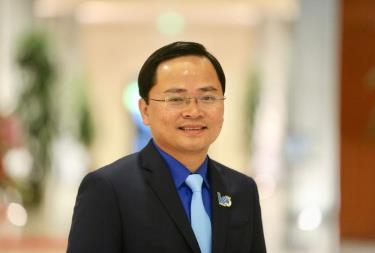Anh Nguyễn Anh Tuấn giữ chức Chủ tịch Ủy ban Trung ương Hội Liên hiệp thanh niên Việt Nam khoá VIII