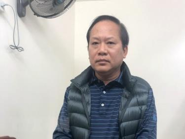 Cựu Bộ trưởng Bộ Thông tin và Truyền thông Trương Minh Tuấn.