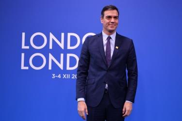 Thủ tướng tạm quyền Tây Ban Nha Pedro Sanchez.